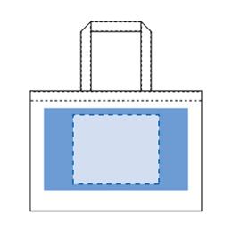 不織布イベントバッグガゼット マチ付き